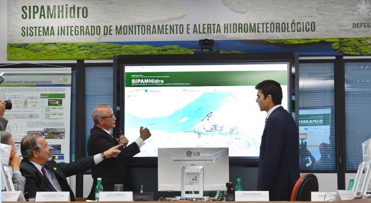 Ministério da Defesa cria sistema que consegue prever enchentes na Região Amazônica