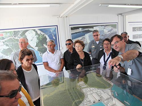 Diretorias das SOAMAR Pará, Amapá e Santos (SP) visitam as obras do PROSUB, em Itaguaí (RJ)