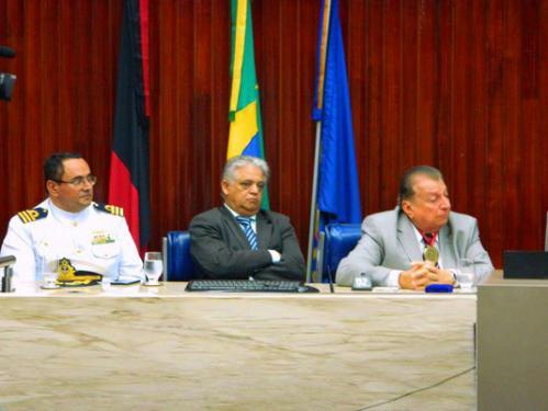 Presidente da Soamar/PB é homenageado na Assembleia Legislativa da Paraíba