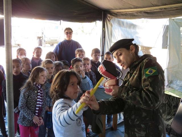 Comemorações da Semana do soldado incluem apresentações musicais, exposições e ações cívico-sociais