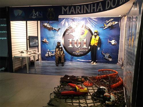 Aviação Naval é tema de exposição no AquaRio