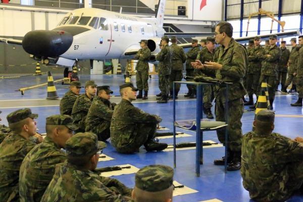 Efetivo da Base Aérea de Florianópolis realiza Exercício de Prontidão