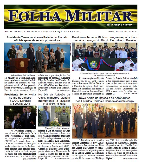 Folha Militar Edição n° 80