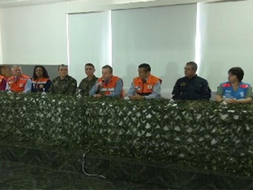 Defesa Civil realiza exercício conjunto com as FFAA para prevenção de acidentes em Petrópolis (RJ)