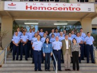 No primeiro dia de campanha, 30 militares compareceram ao Hemocentro