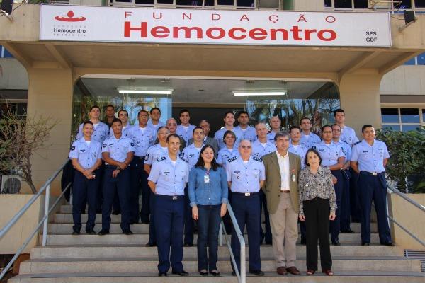 Doação de Sangue mobiliza efetivo da Força Aérea em Brasília