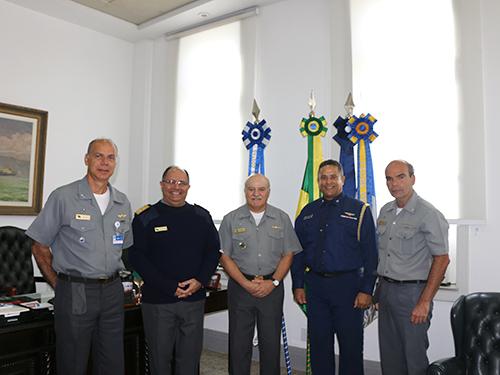 DGN recebe visita do Adido Militar da Guarda Costeira dos EUA