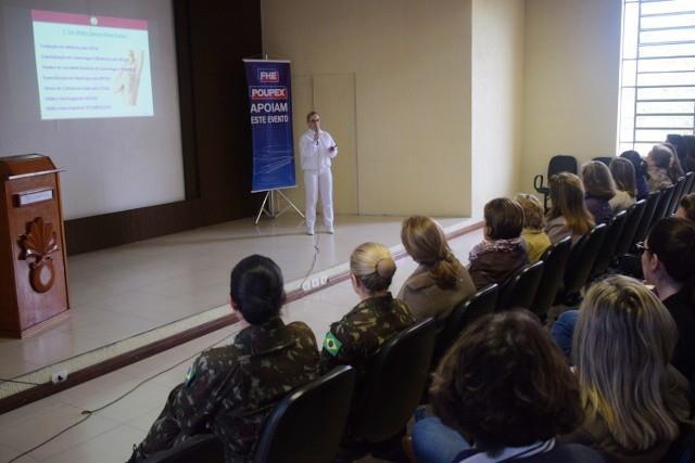 Curso de Extensão Cultural da Mulher no 3º GAC AP