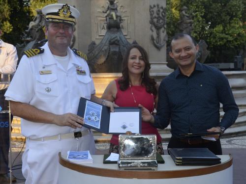 Comando do 9ºDN participa de lançamento de selo comemorativo