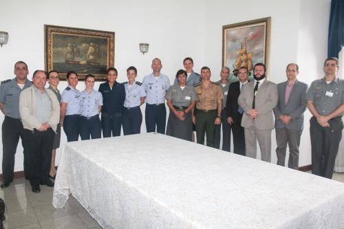 SSPM realiza reunião para acordo de cooperação na área da Psicologia Militar