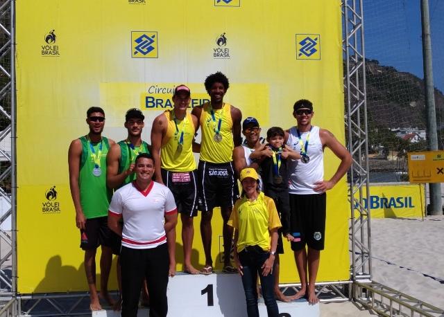 CCFEx sedia 4ª Etapa do Campeonato Brasileiro de Vôlei de Praia