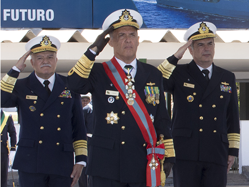 Almirante de Esquadra Ilques é novo Chefe do Estado-Maior da Armada