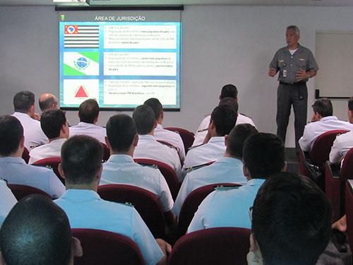 Comando do 8º Distrito Naval recebe alunos intendentes