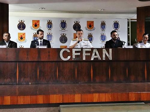 I Simpósio de Educação Física da MB reúne militares de 5 estados, acadêmicos e Comitê Olímpico do Brasil (COB)