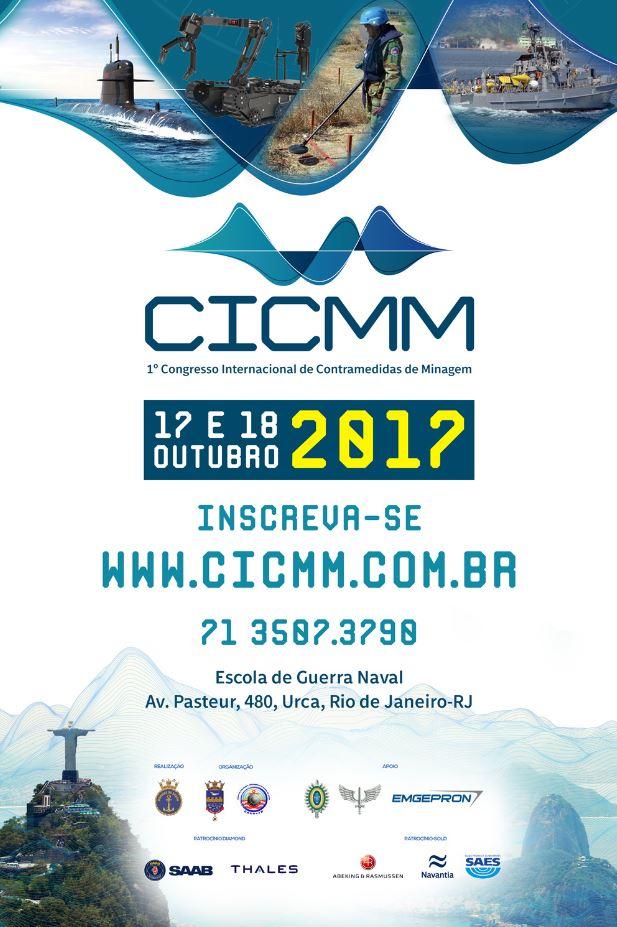 1º Congresso Internacional de Contramedidas de Minagem