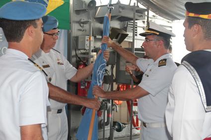 """Corveta """"Barroso"""" é o novo capitânia da Força-Tarefa Marítima da UNIFIL"""
