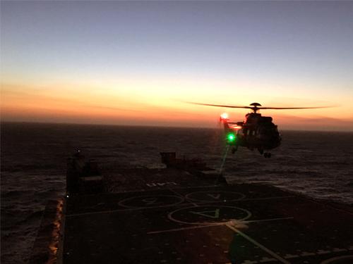 Esquadra amplia sua capacidade de Operações Aéreas noturnas no Brasil