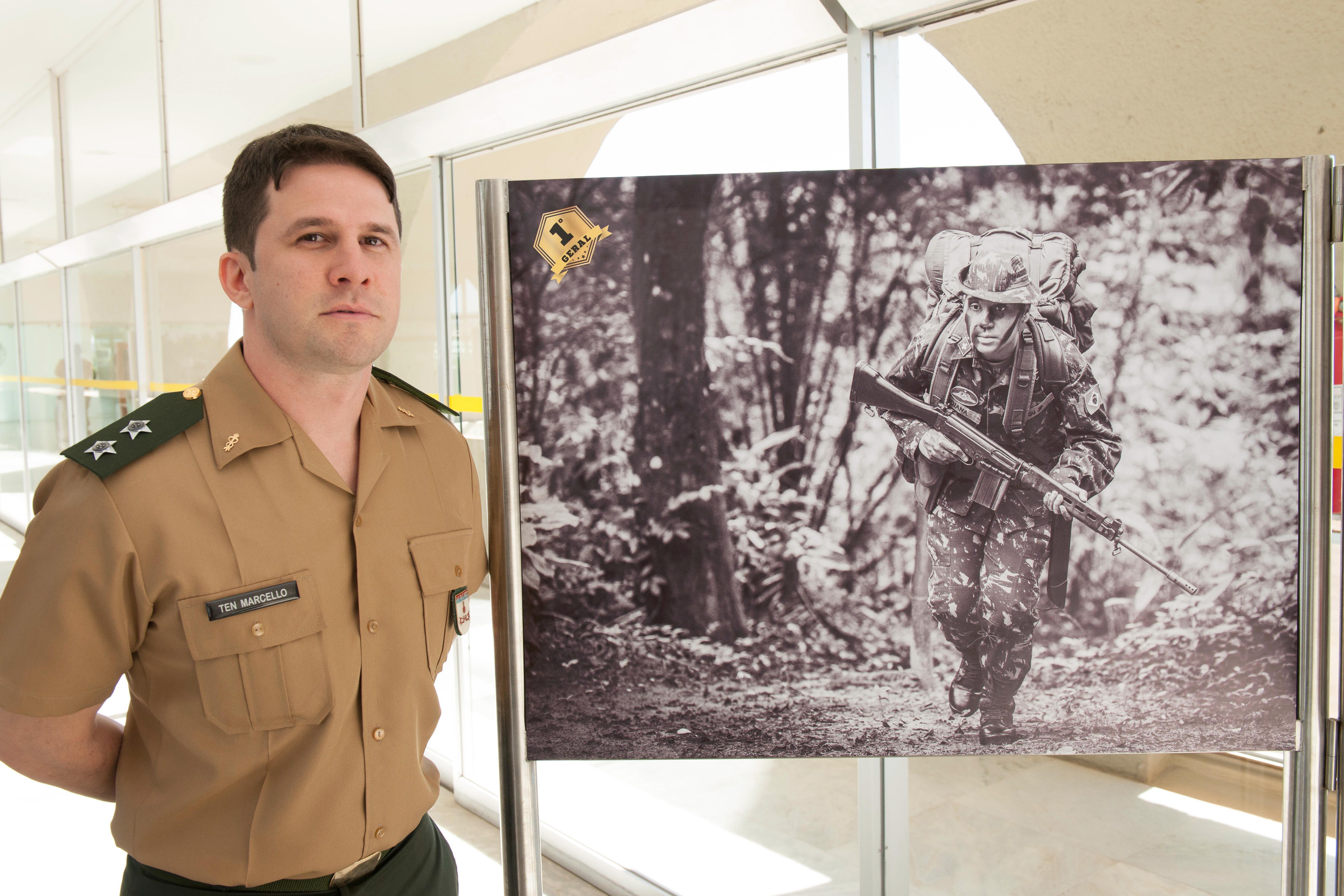 Ação e emoção destacaram-se nas imagens vencedoras do 1º Festival de Fotografias Militares