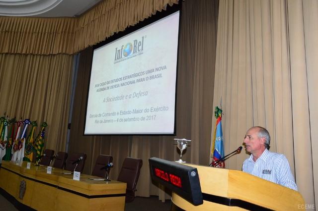 Nova Agenda de Defesa Nacional para o Brasil esteve em discussão no XVII Ciclo de Estudos Estratégicos