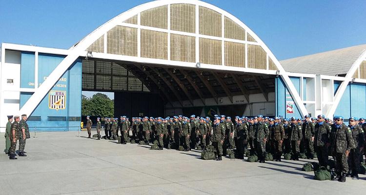 MINUSTAH: Militares brasileiros retornam do Haiti
