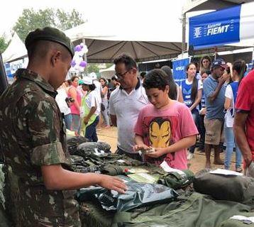 Exército no Projeto Multiação em Cuiabá