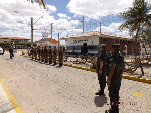 Visita de Orientação Técnica do Gerente da Operação Carro-Pipa do Comando Militar do Nordeste