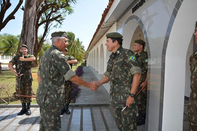 Visita de orientação técnica nas organizações militares apoiadas na Paraíba e no Rio Grande do Norte