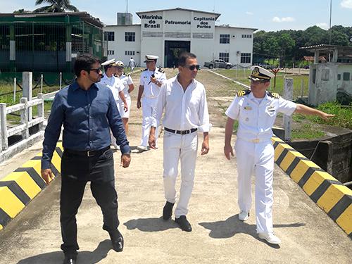 CPAP recebe visita do Presidente da Frente Parlamentar de Controle e Desenvolvimento das Fronteiras