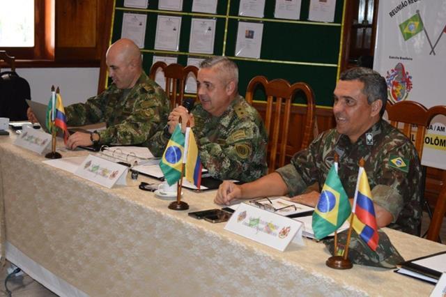 XXVII Reunião Regional de Intercâmbio Militar Brasil e Colômbia