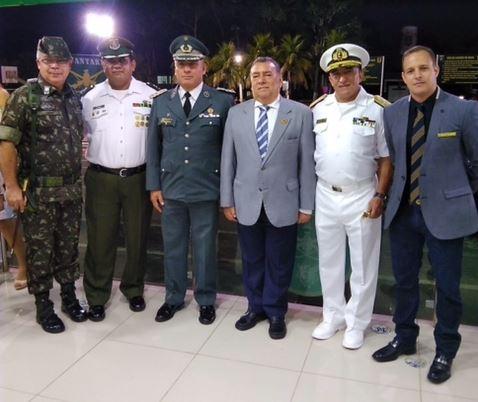 Adesg/AC participa da solenidade de aniversário de 60 anos do 4º Batalhão de Infantaria de Selva