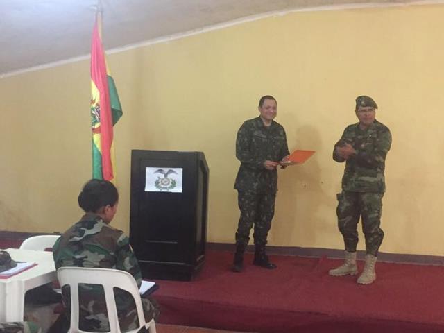 Instrução de Logística no Batalhão Logístico I do Exército Boliviano