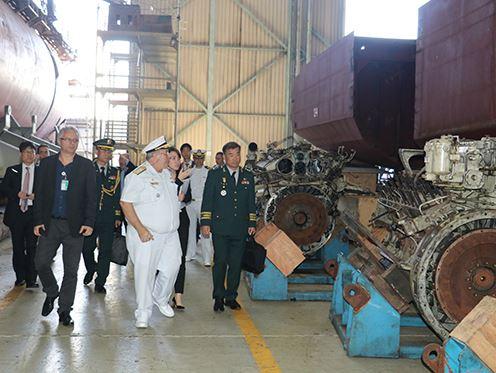 Arsenal de Marinha do Rio de Janeiro recebe visita de Delegação da República da Coreia