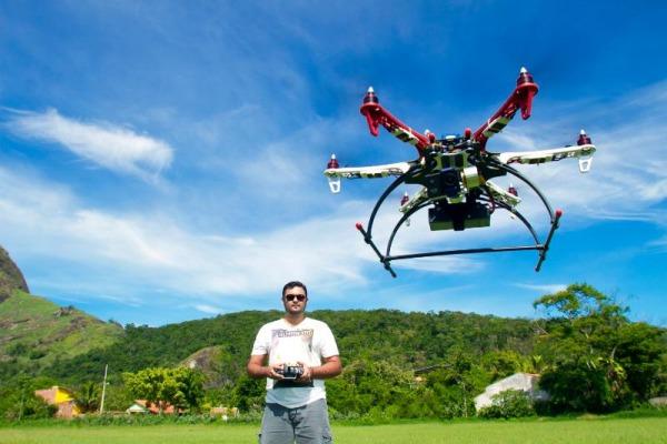 Drones sob controle