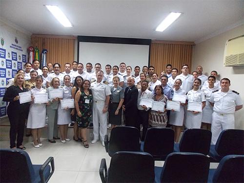 Hospital Naval de Belém promove curso sobre acolhimento e qualidade na área da Saúde