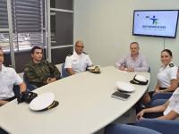 marinha do brasil visita prefeitura