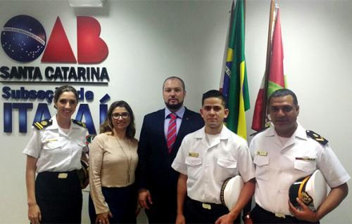 Militares da DelItajaí participam de Workshop sobre Direito Aduaneiro, Marítimo e Portuário