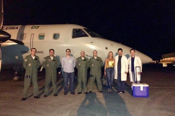 FAB realiza mais duas missões de transporte de órgãos em São Paulo