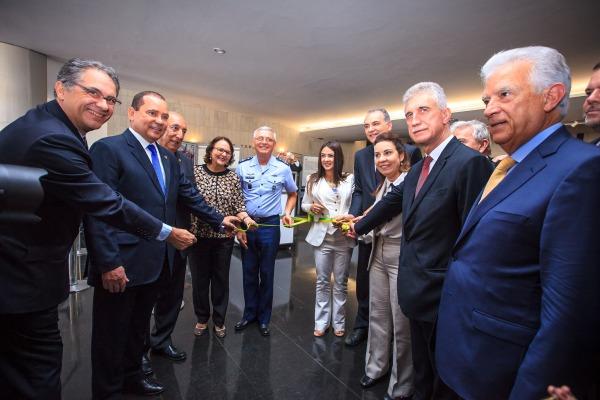 Exposição da FAB no Congresso Nacional