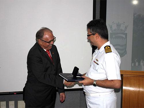 CPCE recebe a visita do Ministro Presidente do Superior Tribunal Militar