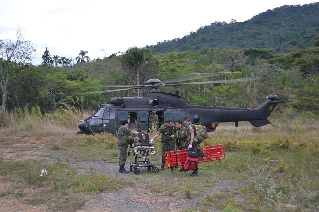 Operação Membeca realiza adestramento no ambiente operacional de montanha