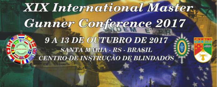 XIX Conferência Internacional de Instrutores Avançados de Tiro 2017