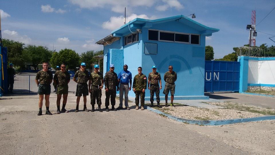 26º Contingente Brasileiro entrega a Base General Bacellar para representação da ONU (MINUSTAH)