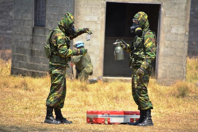 Exercício Felino comprova a capacidade de atuação das Forças Armadas em missões de paz e ajuda humanitária