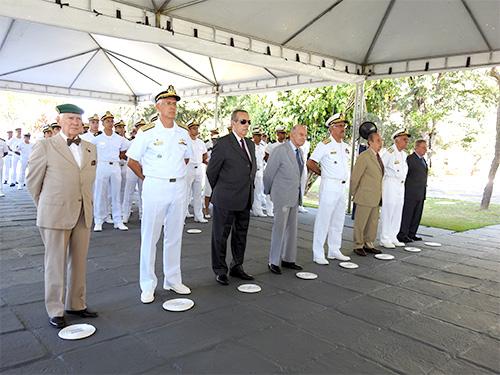 Comandante de Operações Navais preside a cerimônia do 75° aniversário de criação da Força Naval do Nordeste