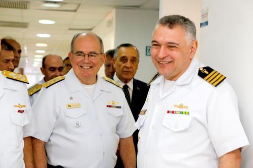 Comandante da Marinha inaugura obras de ampliação e revitalização da Odontoclínica Central da Marinha