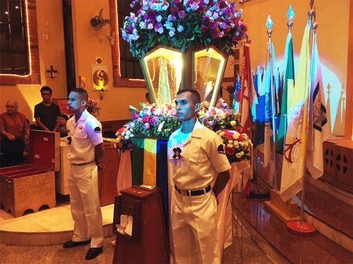 Marinha participa da comemoração dos 300 anos da aparição da imagem da Padroeira do Brasil
