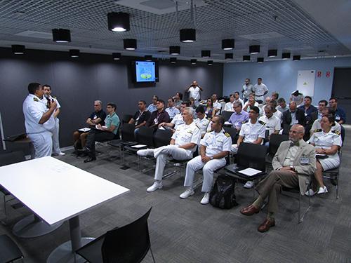 Marinha do Brasil realiza a 70ª reunião do Comitê Técnico da Hidrovia Tietê-Paraná