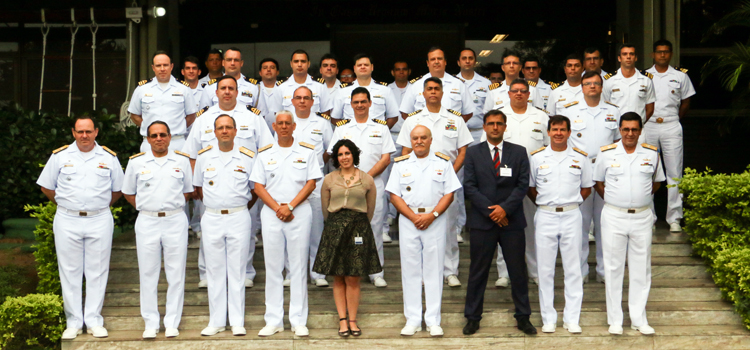 Iniciada a capacitação do 15º Contingente Brasileiro da Força-Tarefa Marítima UNIFIL