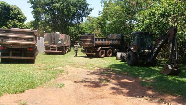 2º Batalhão de Engenharia de Combate inicia Operação Chapadão