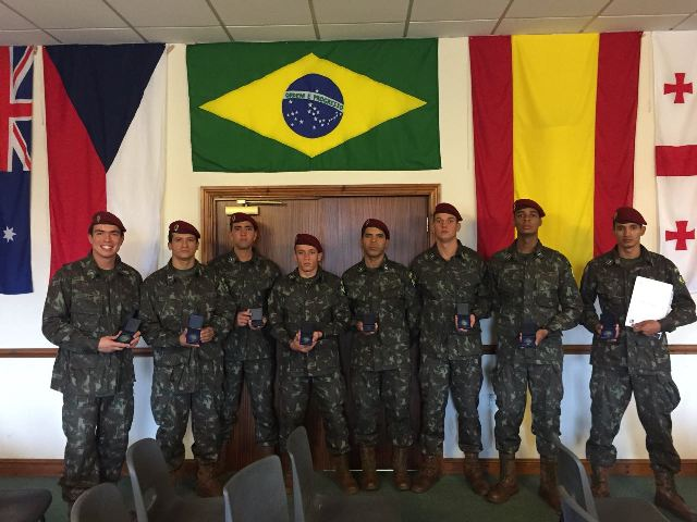 Equipe do 1º Batalhão de Ações de Comandos fica com prata em competição de patrulhas na Europa